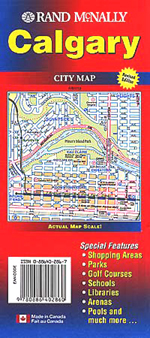 Rand McNally Calgary, Alberta Street Map