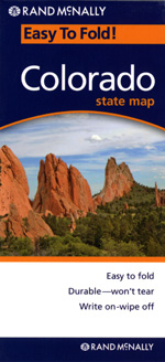 Rand McNally Colorado Travel Map