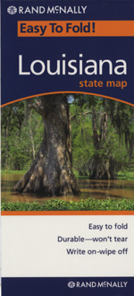 Rand McNally Louisiana Travel Map