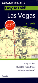 Rand McNally Las Vegas, Nevada Street Map
