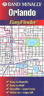 Rand McNally Orlando, Florida Street Map