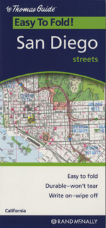 Rand McNally San Diego, California Street Map