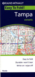 Rand McNally Tampa, Florida Street Map