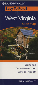 Rand McNally West Virginia Travel Map