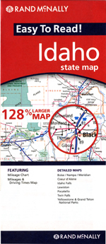 Rand McNally Idaho Travel Map