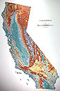 California Wall Map