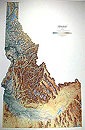 Idaho Wall Map