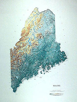 Maine State  - Paper