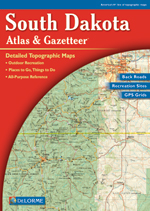 South Dakota Atlas and Gazetteer