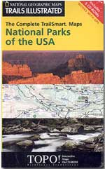 National Parks of the USA TrailSmart Maps