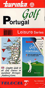 Golf of Portugal Travel Map