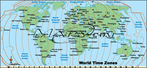 World with Time Zones