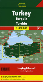 Turkey Travel Map