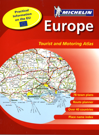 Europe Road Atlas - Michelin