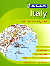 Italy Road Atlas - Michelin