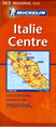 Italy, Central Travel Map