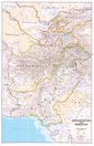 National Geographic Afghanistan and Pakistan Wall Map