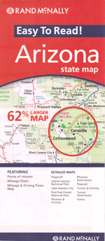 Rand McNally Arizona Travel Map