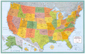 Rand McNally M Series USA Wall Map