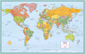 Rand McNally M Series World Wall Map