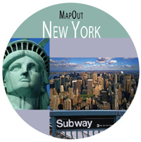 New York MapOut Street Map