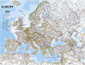 National Geographic Europe Wall Map