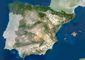 Spain Satellite Digital Map